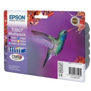 Epson T0807 Multipack - Cartouche